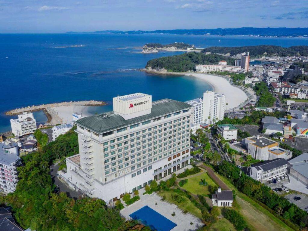 「デイユース」できる【マリオット・ホテル】テレワーク、カップルにおすすめ! 南紀白浜マリオットホテル
