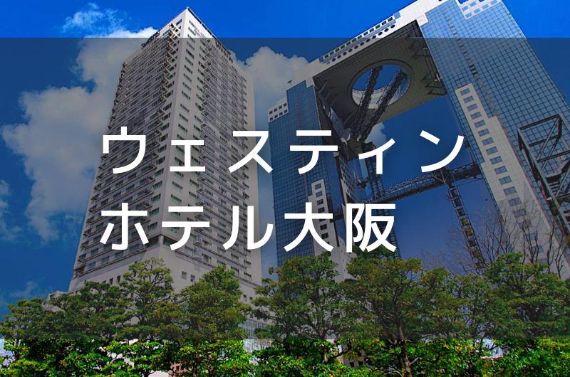 ウェスティンホテル大阪 デイユースプラン利用できるホテル