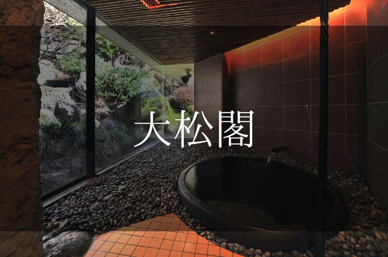 大松閣 日帰り温泉『個室プラン』利用できる宿