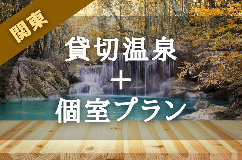 【関東】日帰り|貸切温泉が利用できる『個室プラン』のある宿
